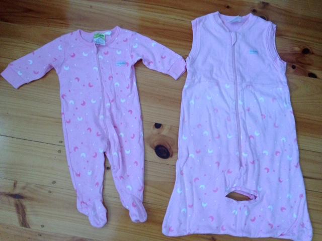 Size 00 Girls BabyKids Sleeping Bags & Bodysuit