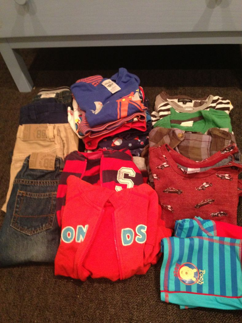 Size 2 (18-24 months) boys' clothing